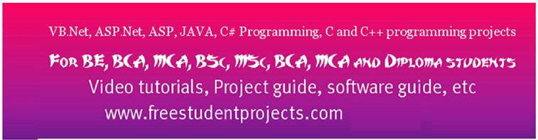 student project training list