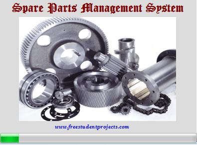 Spare parts inventory management system