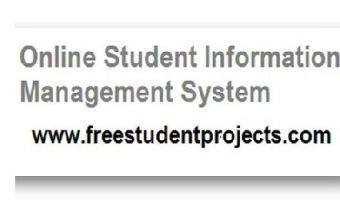 Online Student Information Management System