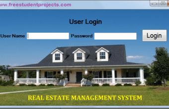Real Estate Management System