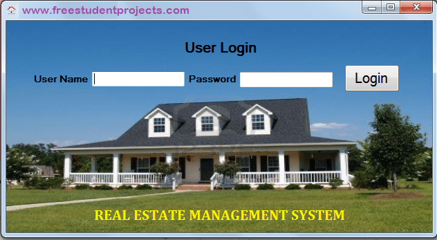 real estate management system This computer system, and all the systems associated with this system for user authorization and authentication, are protected by a computer security system.