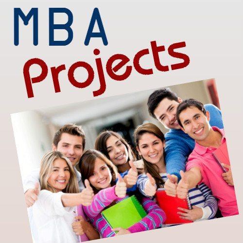 MBA Project PPT Presentation