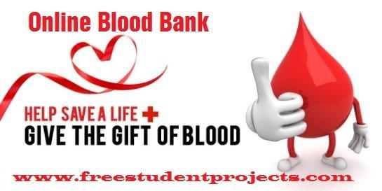 online blood bank