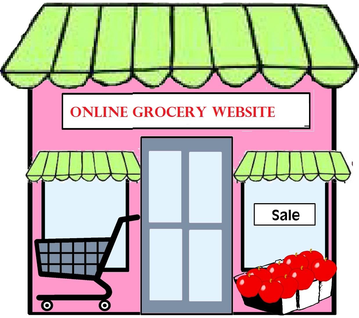 Online Grocery Website